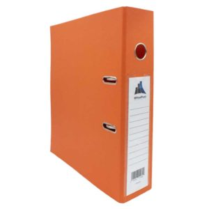 Classeur chrono 75mm OFFICEPLAST orangé