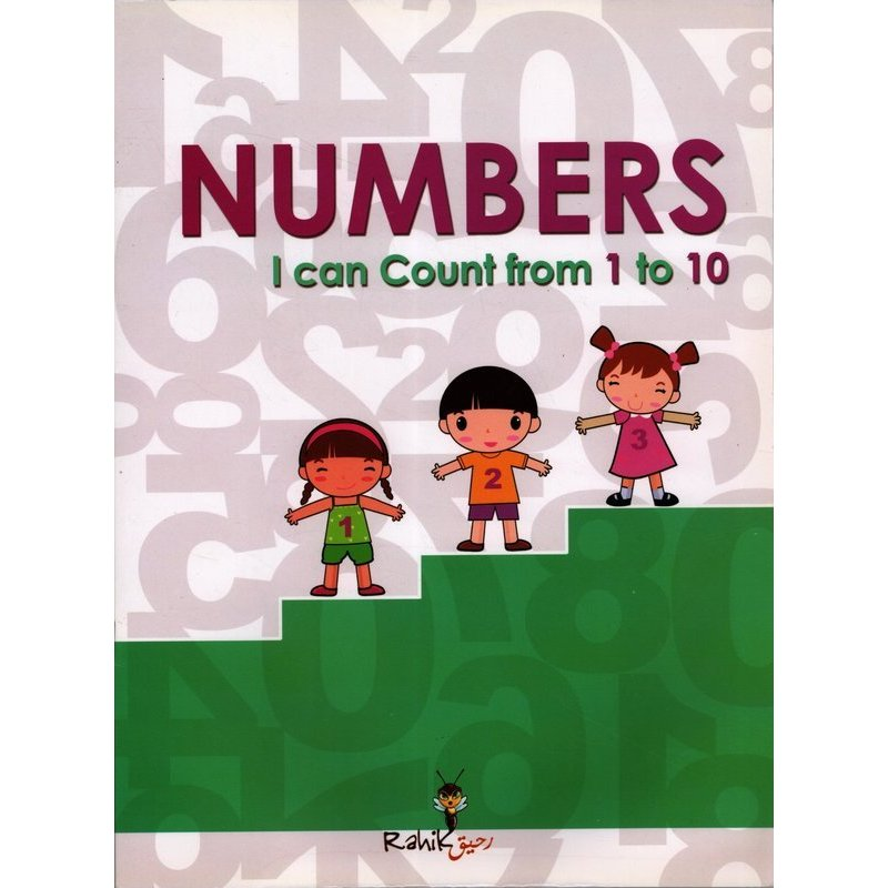 NUMBERS I CAN COUNT FROM 1 TO 10