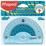 Rapporteur 12cm/180° maped incassable