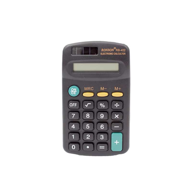 Calculatrice de poche RONBON RB-402