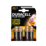 Piles*4 AA power plus DURACELL