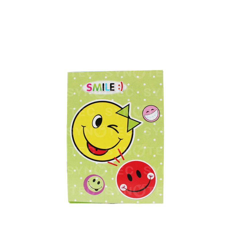 Carnet stickers smile