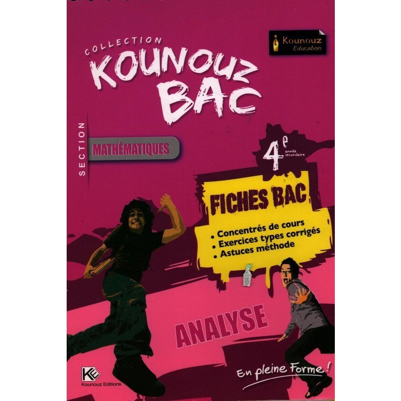 FICHES BAC  ANALYSE SECTION MATHEMATIQUES
