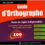 MON  GUIDE ORTHOGRAPHE