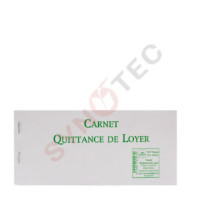 Carnet quittance de loyer