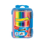 Crayons de 15 couleurs MAPED smart box