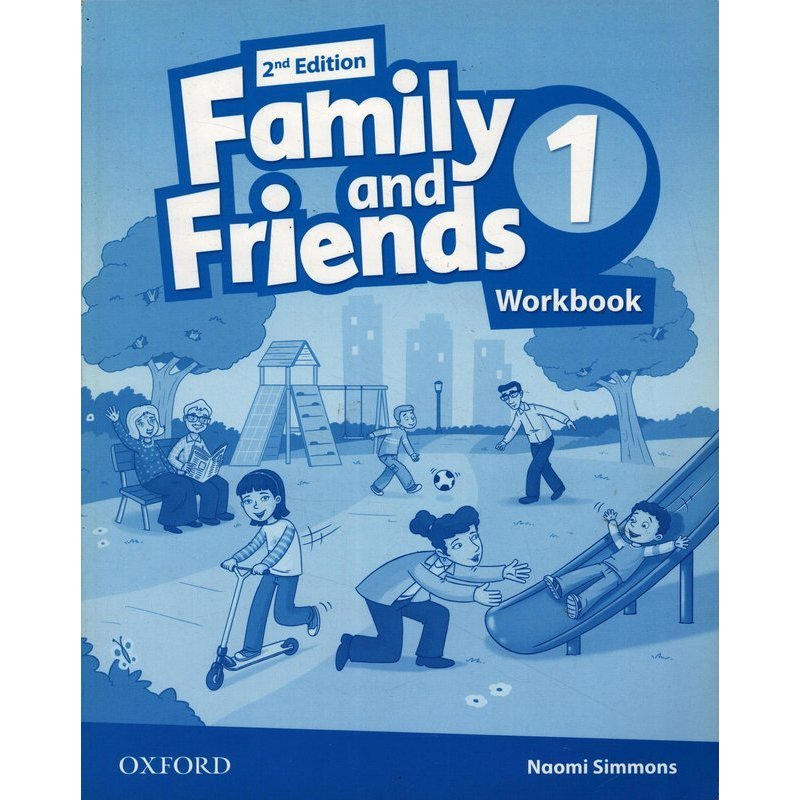 FAMILY AND FRIENDS 2ND 1 WORKBOOK
