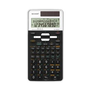 Calculatrice scientifique SHARP EL-506TS-WH