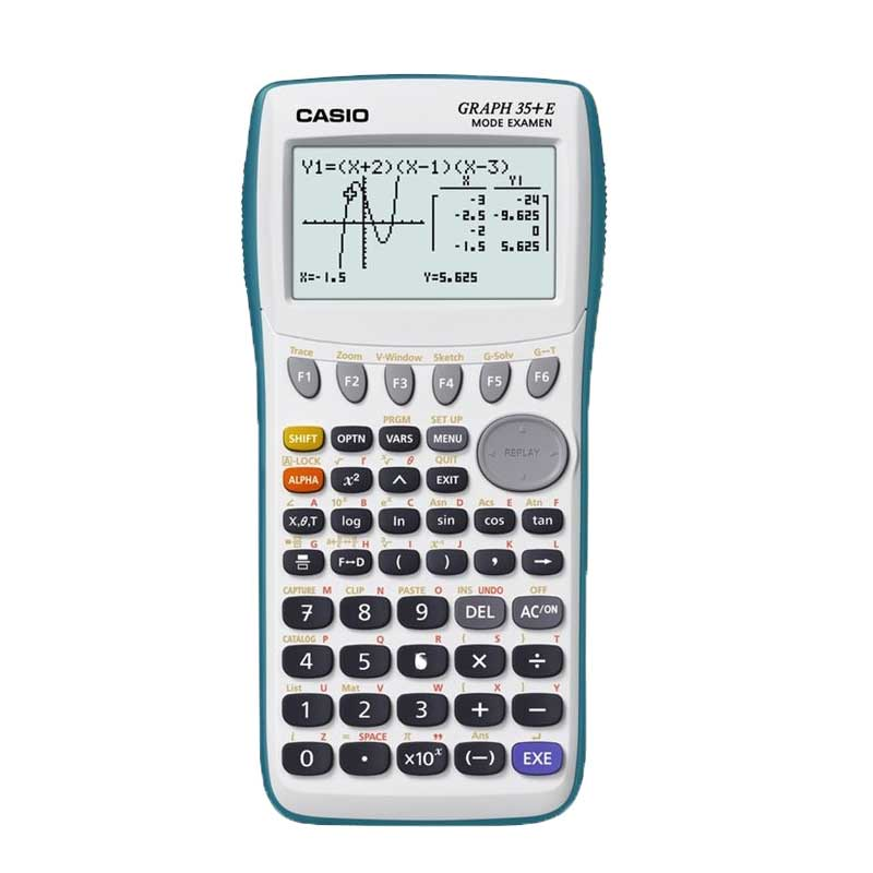 Calculatrice scientifique CASIO GRAPH 35+E