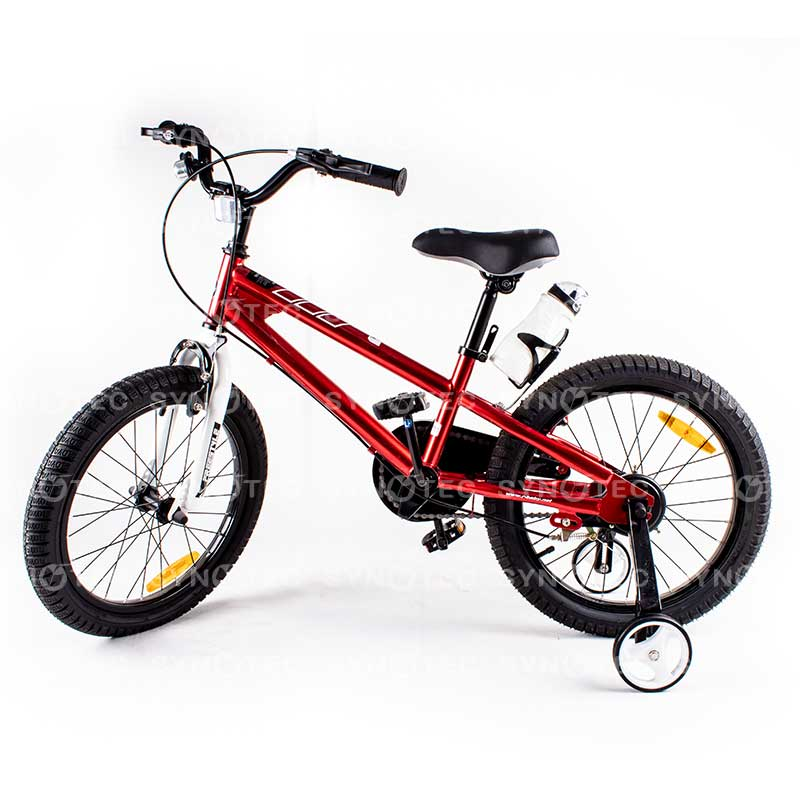 Vélo RoyalBaby Freestyle 18″ 5-9 ans Rouge