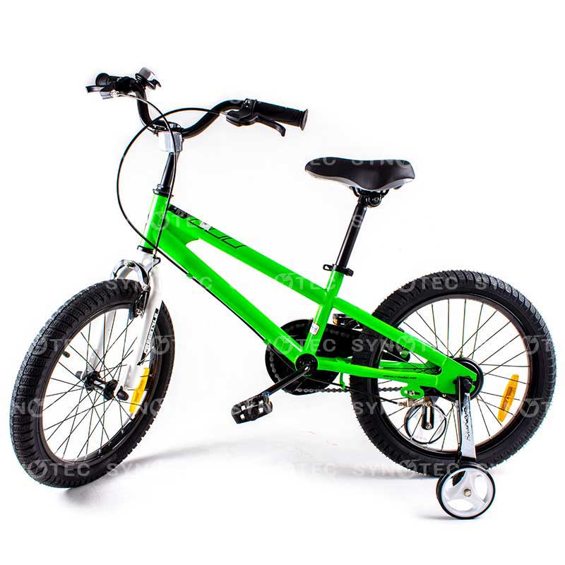 bicyclette royalbaby freestyle 18-20 vert