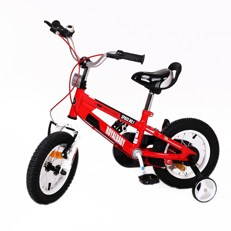 Vélo RoyalBaby Space N°1 12″ 2-5 ans Rouge