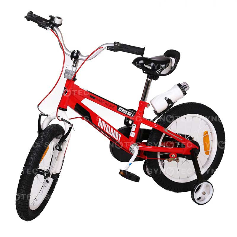 Vélo RoyalBaby Space N°1 16″ 4-7 ans Rouge