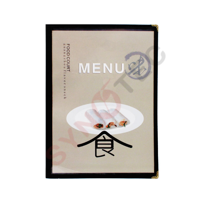 Porte menu simple 8 vues