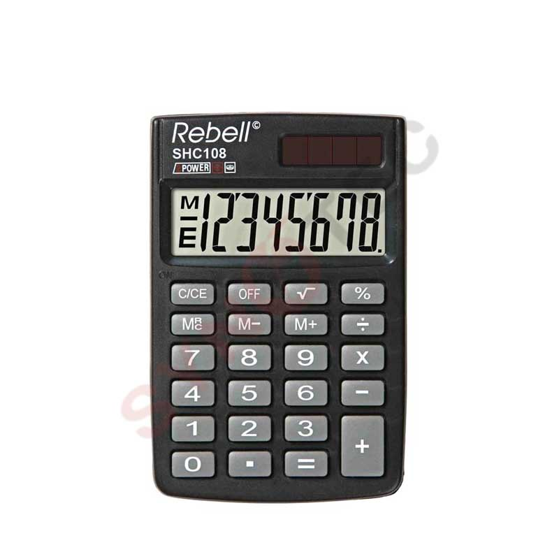 Calculatrice REBELL SHC108