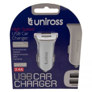 chargeur-voiture-usb-uniross-2,4A