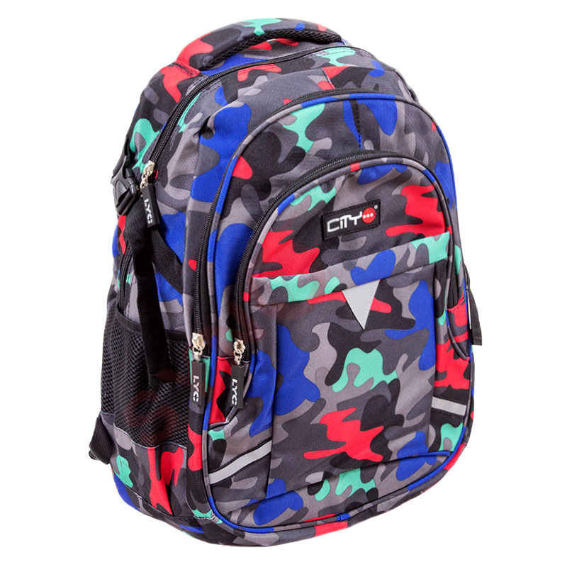 Sac à dos CITY CB24121 backpack colored camo