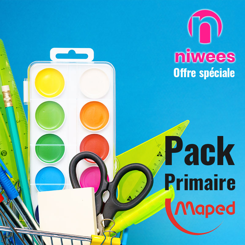 Pack Primaire maped niwees