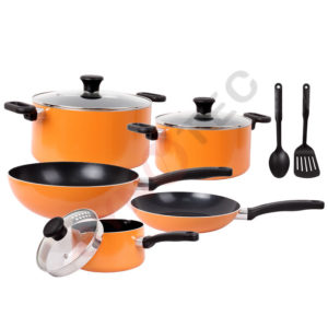 Set 10 pièces tefal PRIMA orange (B168A474)