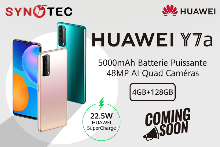 huawei y7a coming soon Tunisie