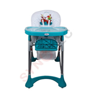 Chaise haute prima lunch time turquoise